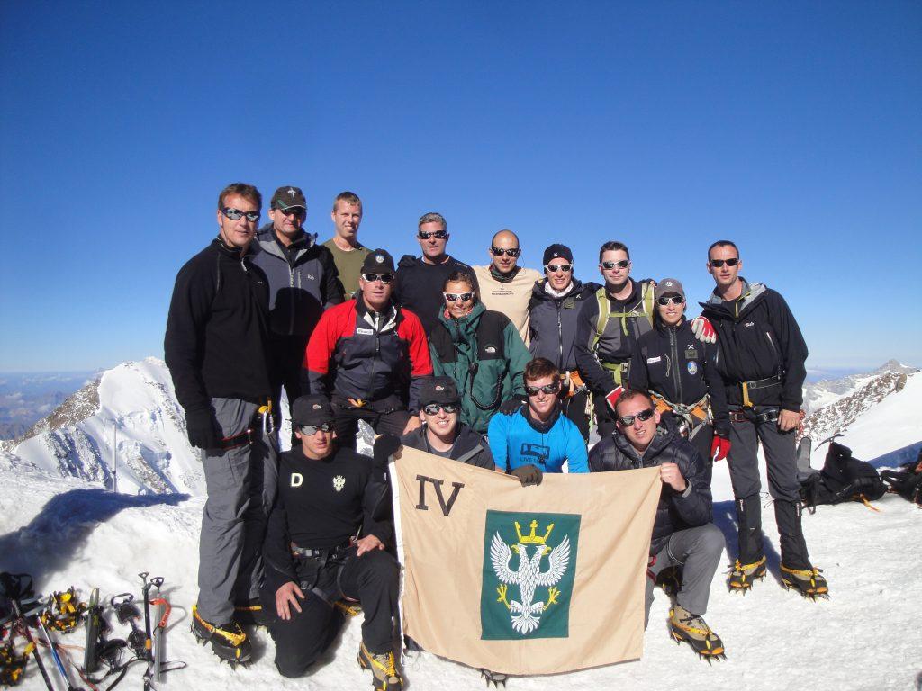 4 MERCIAN on winter adventure training