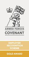 Gold Employer Recognition Scheme Award