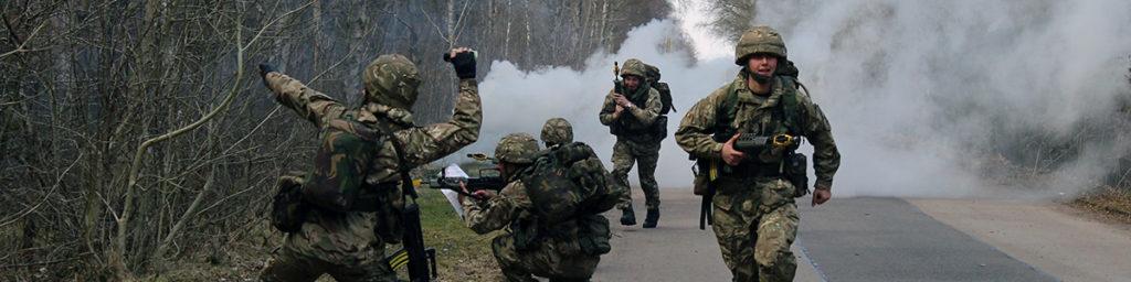 Attack training exercise