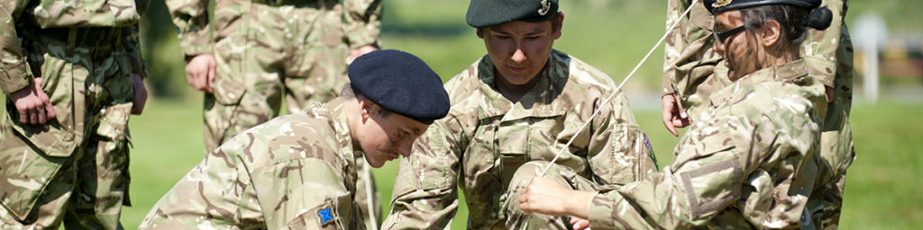 Army Cadets on camp