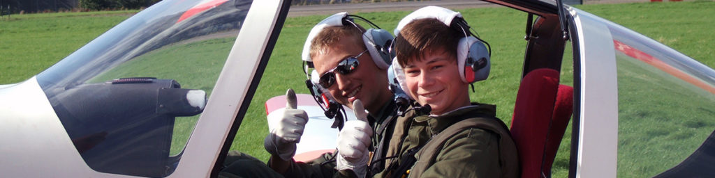 Air Cadet glider training