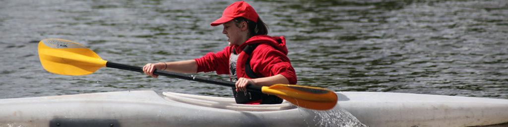 Cadet Kayaking