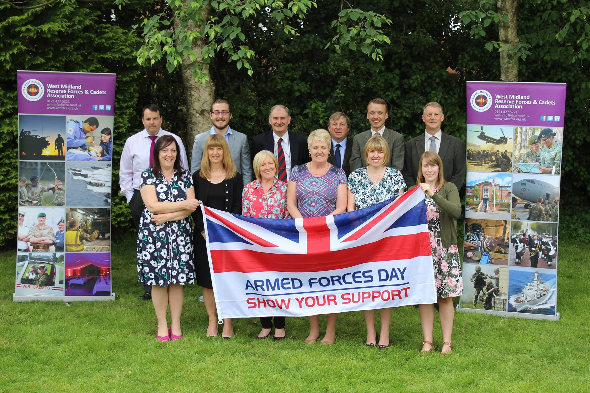 West Midland RFCA Salute our Forces