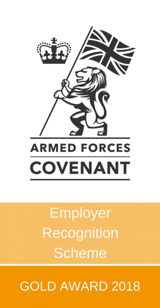 Employer Recognition Scheme Gold Award 2018