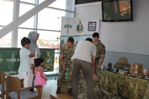 Youngsters getting a taste of Army life
