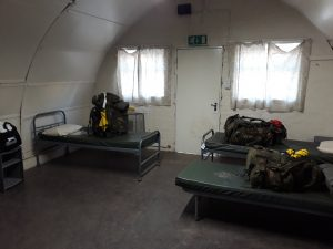 First night accommodation