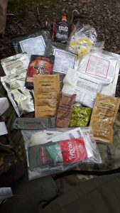 Ration pack contents