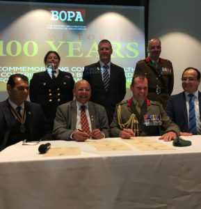 All three Covenant Signatories at BOPA event