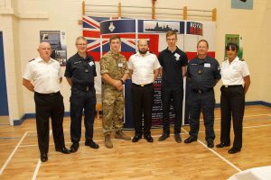 HMS Forward Reservists from all ranks