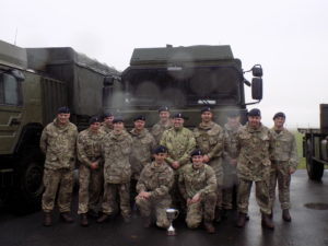 Members of 159 Theatre Support Company REME
