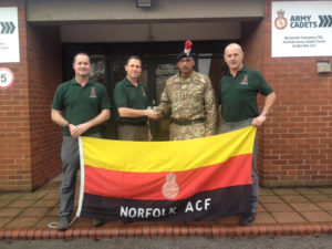 Delroy's challenge takes him to Norfolk