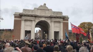 Menin Gate on 11th November