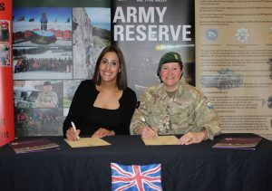 The Education Awards sign Armed Forces Covenant
