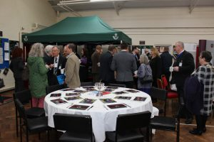 Guests gather ready for Bugle Breakfast in Hereford