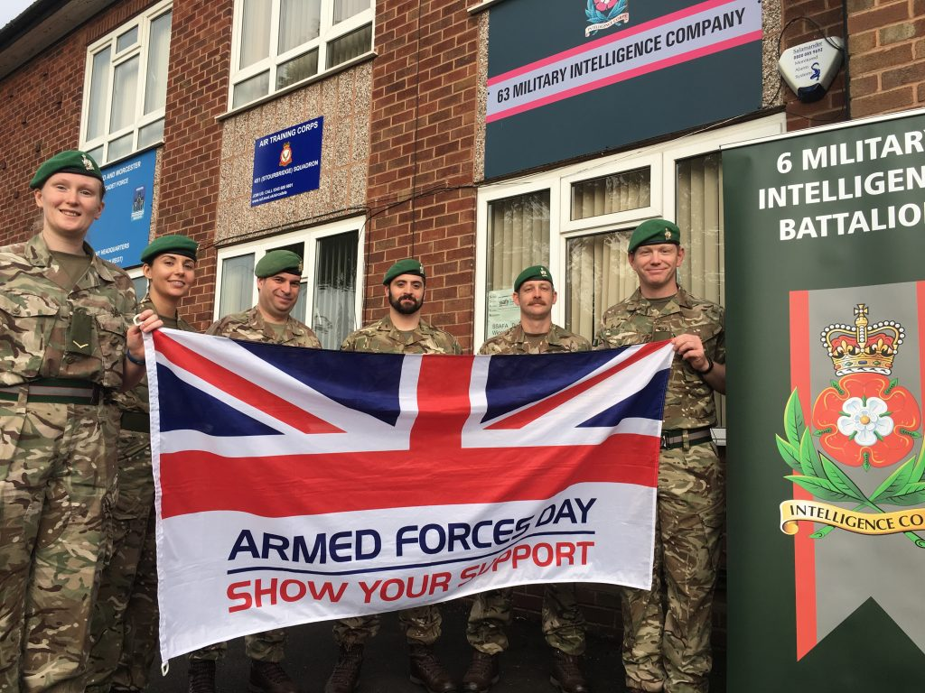 Reservists from 63 Military Intelligence Company will receive the Freedom of Dudley Borough