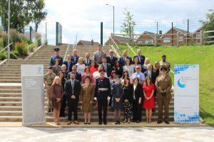 All signatories and military representatives