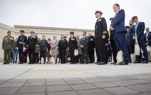 Remembrance Service at Armed Forces Memorial