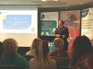 Lt Cdr Suzanne Lynch Speaking