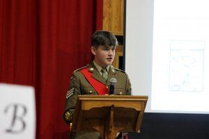 Cadet Sgt Grainger's Presentation
