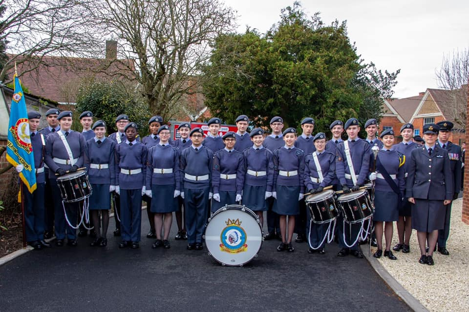 RAF Air Cadets from 121 Squadron ATC