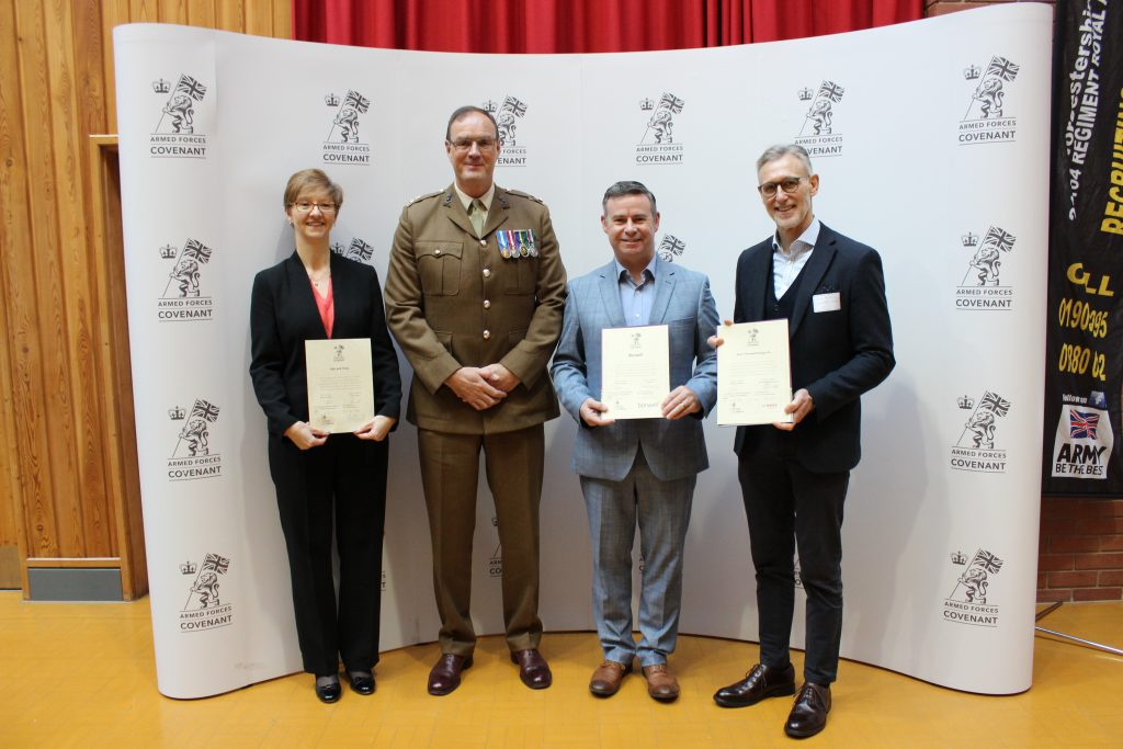 Worcestershire Armed Forces Covenant signees