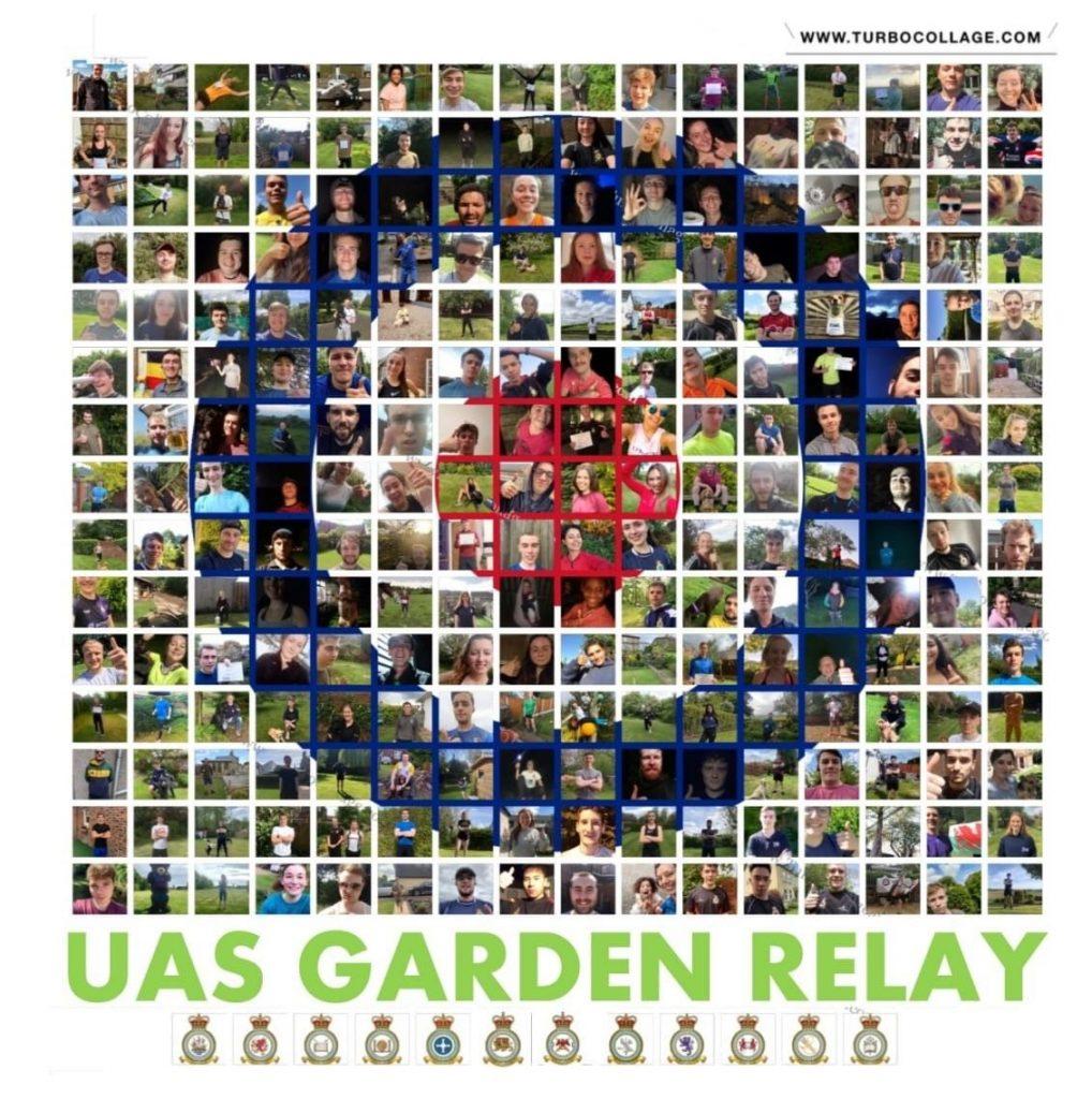 A larger photo montage of participants