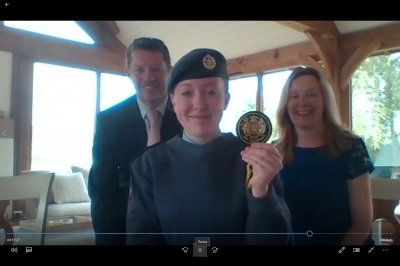 Telford Air Cadet (CCF) becomes one of the newest Lord Lieutenant's Cadets