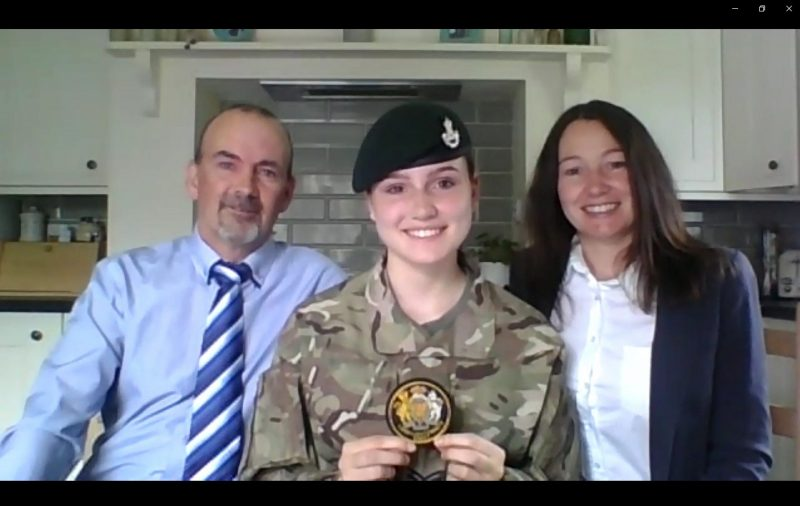 Shropshire Army Cadet becomes one of the newest Lord Lieutenant's Cadets
