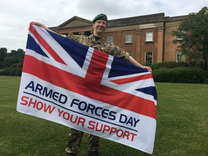 63 MI Coy celebrate Armed Forces Day