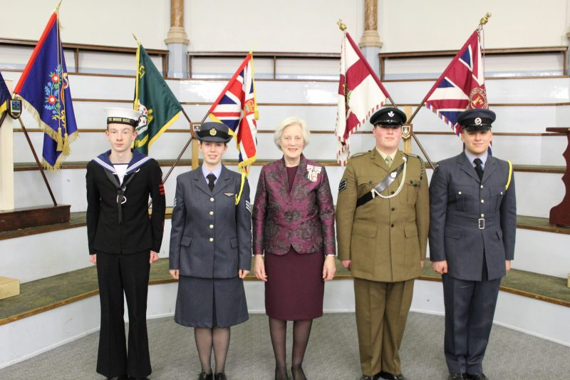Incoming Lord Lieutenants Cadets for Herefordshire