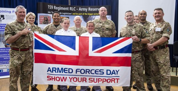 159 Regiment RLC celebrating Reserves Day and Armed Forces Day