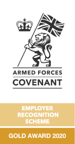 Defence Employer Recognition Scheme Gold Award 2020