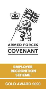 Defence Employer Recognition Scheme Gold Award 2020
