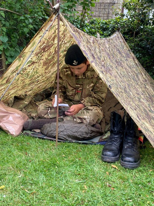 Hereford & Worcester Army Cadet brushes up on his cadet knowledge
