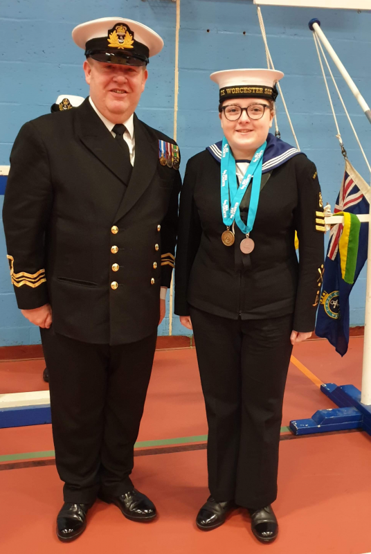 A Sea Cadet from Worcester shares her incredible 8-year long journey with the Sea Cadets