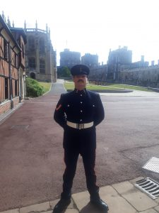 Redditch Reservist - LCpl Smith at Queens Birthday