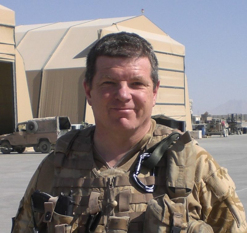 Royal Navy Reservist shares his journey from the regular forces to civilian employment