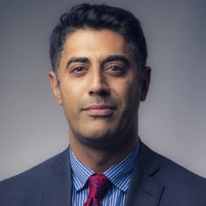 Portrait photograph of Qasim Majid