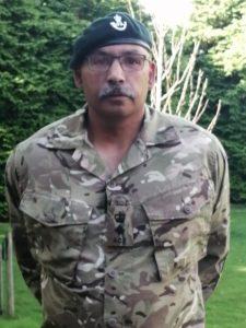 Lt Col Tucker in military uniform