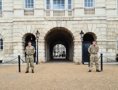 Reservists from 54 Support Squadron support Covid-19 pandemic response