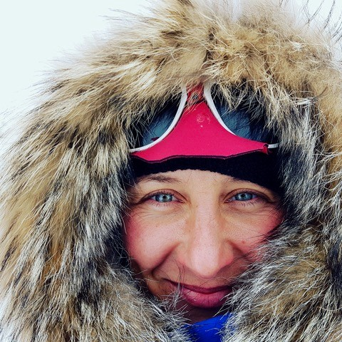 Major Sandy Hennis was part of the record-breaking Ice Maiden team