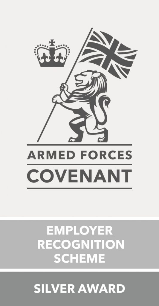 Employer Recognition Scheme Silver Award Logo