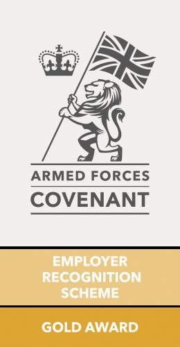 Employer Recognition Scheme Gold Award Logo