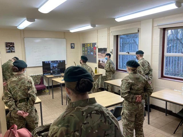 Army Cadets start Exercise Christmas Cracker activities in a Covid-19 secure manner