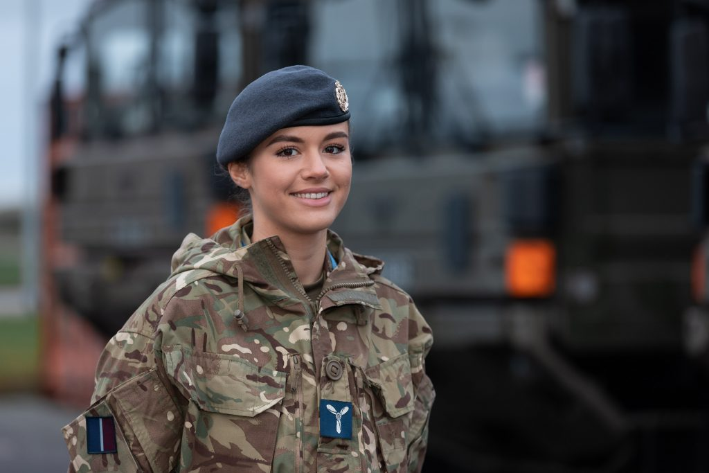 SAC Boudewyn currently serves with No. 605 (County of Warwick) Sqn RAux Air Force and has been mobilised at Lossiemouth