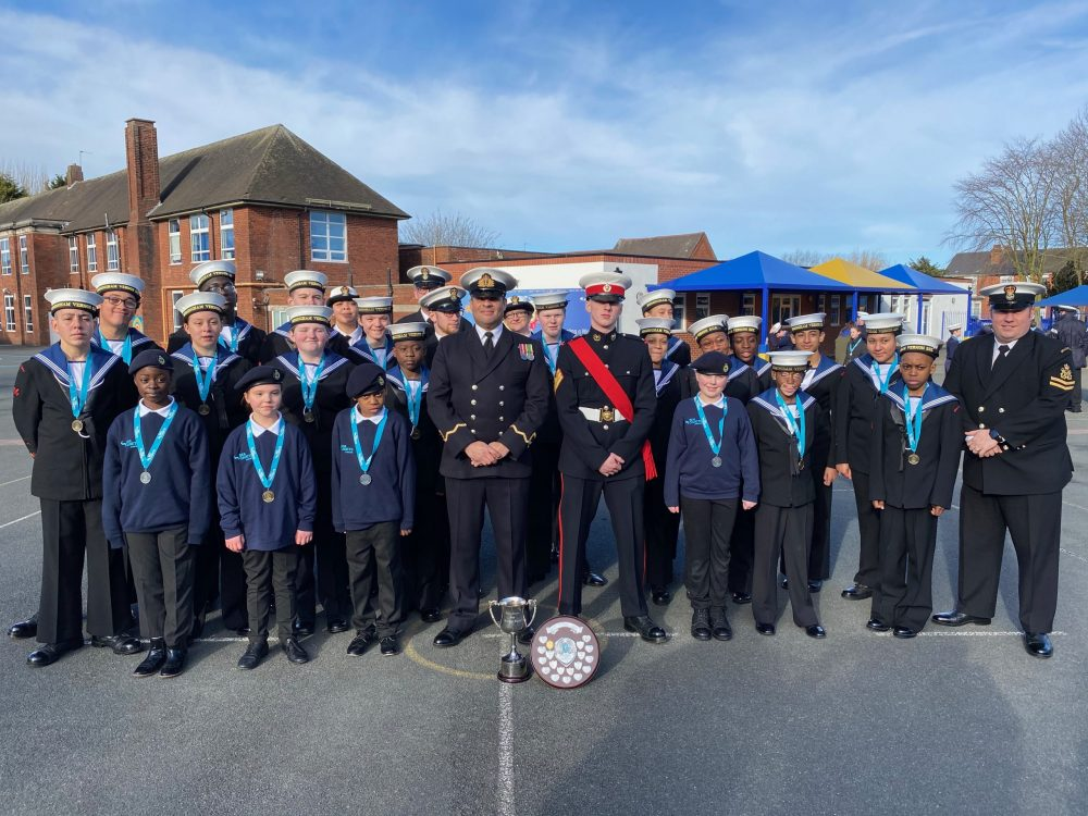 TS Vernon Sea Cadets and adult volunteers