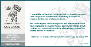 Quote from Minister for Defence People and Veterans