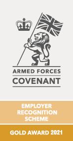 Defence Gold ERS Award 2021 emblem