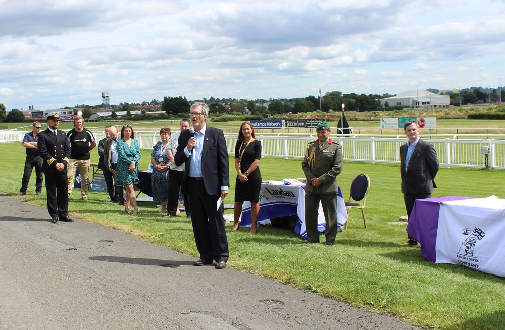 NMITE's Military to Business event at the Hereford Racecourse