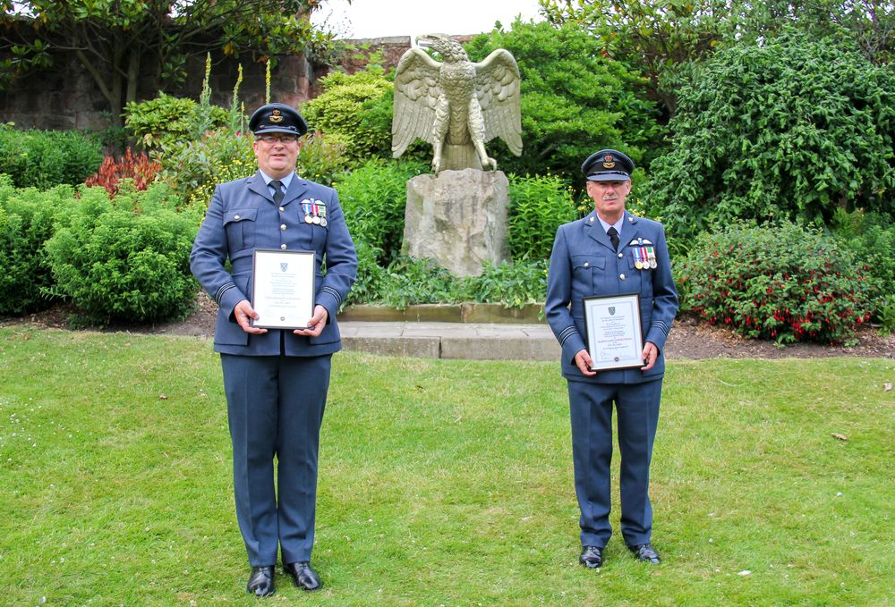Adult volunteers from Shropshire are recognised for their dedication and achievements by the Shropshire Lord-Lieutenant